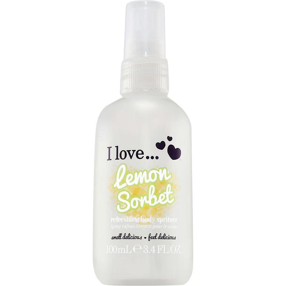 I love… Lemon Sorbet  100ml I love… Vartalosuihkeet
