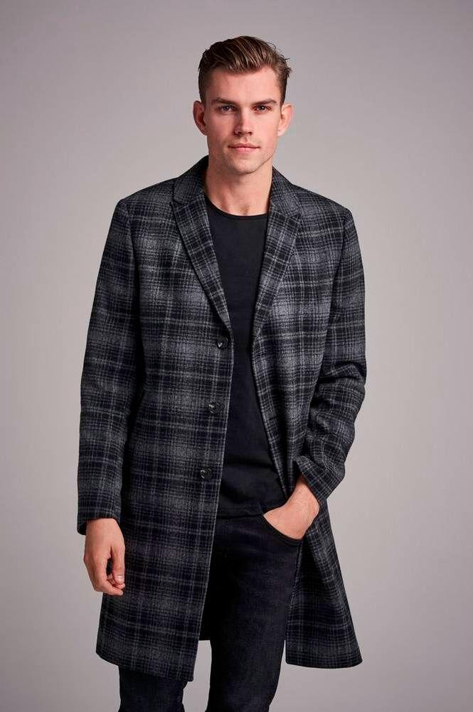 William Baxter Takki Dean Wool Coat