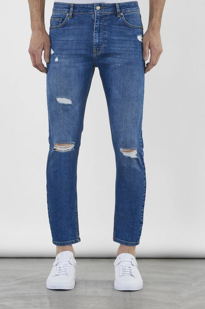 William Baxter Farkut Toby Cropped Jeans