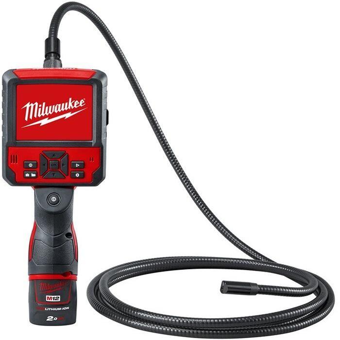 Milwaukee M12 ICAV3-201C Tutkimuskamera sis. 2,0 Ah:n akun ja laturin