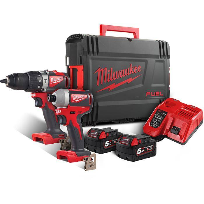 Milwaukee M18 BLPP2A2-502X Työkalupaketti
