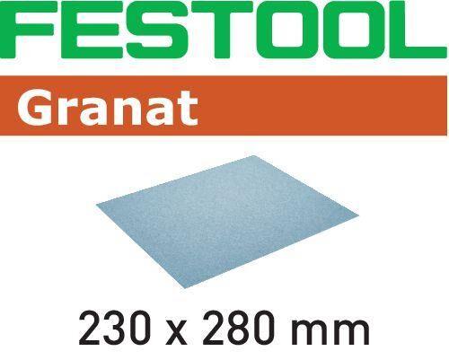 Festool GR Hiomapaperi 230x280mm 10 kpl. P80