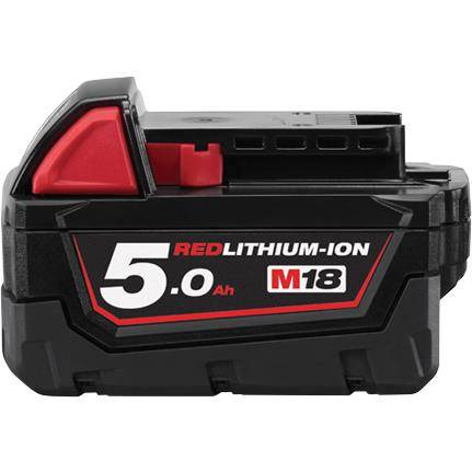 Milwaukee M18 B5 18V Litiumioniakku 5,0Ah