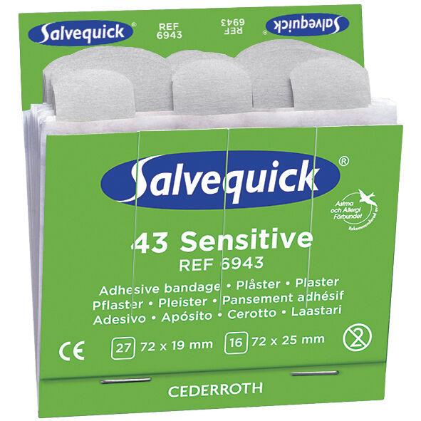 Salvequick 6943 Kuitukangaslaastari 6x43st