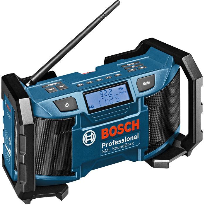 Bosch GML SoundBoxx Radio ilman akkuja ja laturia