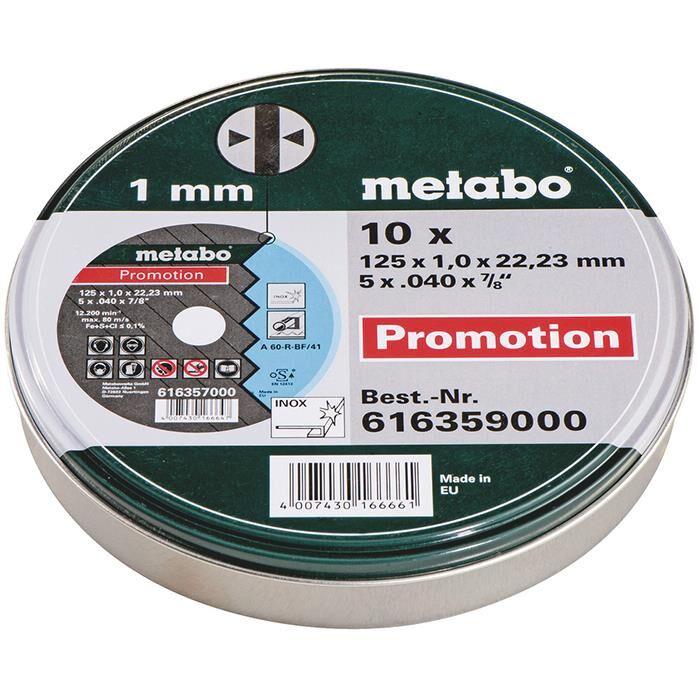 Metabo 616359000 Yleislaikka 10 kpl:n pakkaus