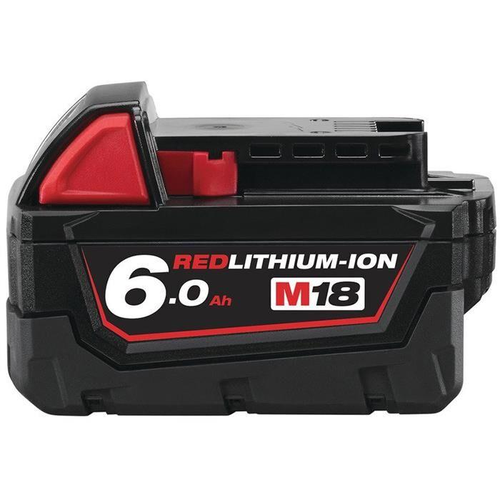 Milwaukee M18 B6 Litiumioniakku 6,0Ah