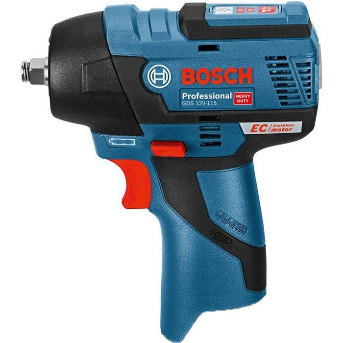 Bosch GDS 12V-115 Mutterinväännin Toimitukseen sisältyy L-boxx, akku ja latauslaite eivät sisälly