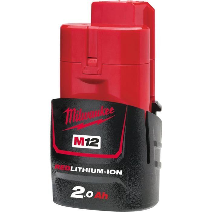 Milwaukee M12 B2 12V Litiumioniakku 2,0Ah