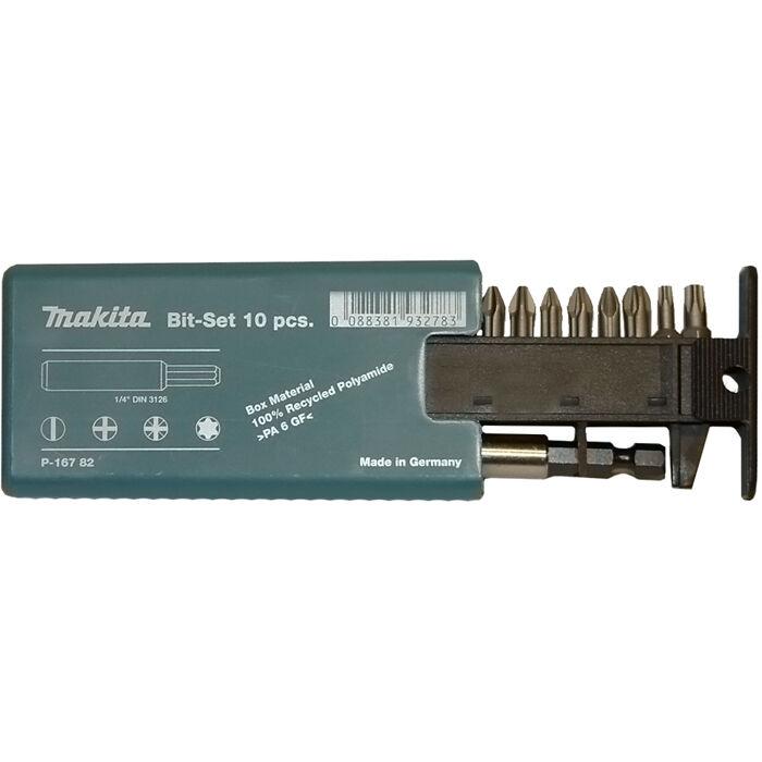 Makita P-16782 Ruuvikärkisarja 10-Osaa, 25 mm