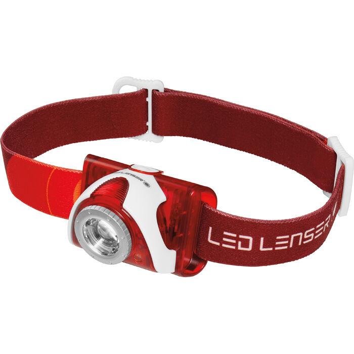 Led Lenser SEO 5 Otsalamppu  Punainen