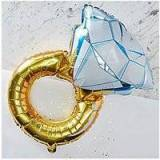 boohoo Foil Ring Balloon
