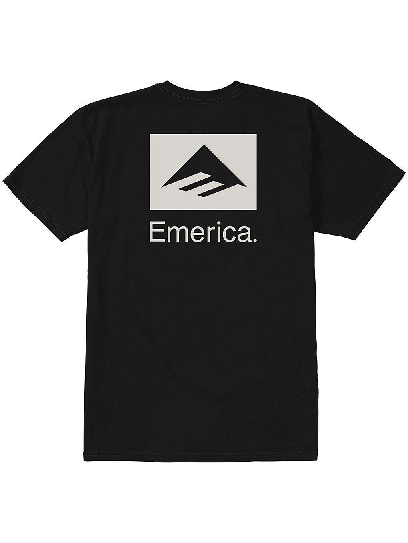 Emerica Brand Combo T-Shirt musta