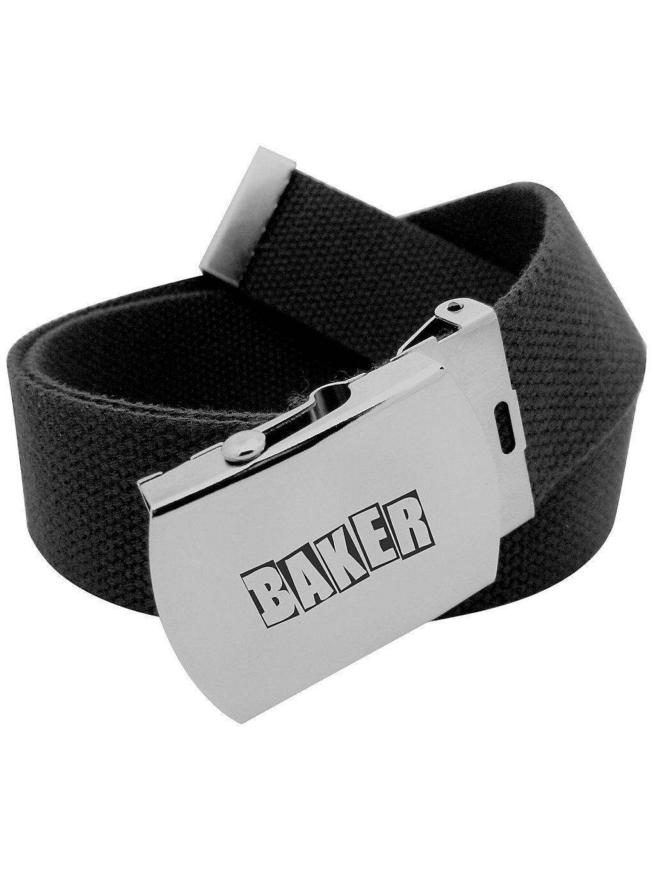 Baker Brand Logo Belt musta