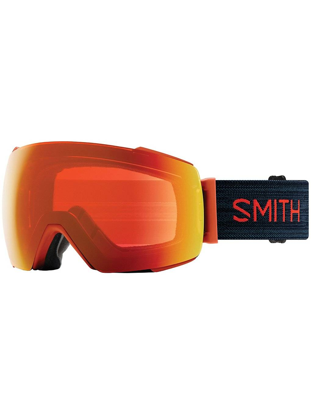 Smith IO Mag Red Rock (+ Bonuslens) punainen
