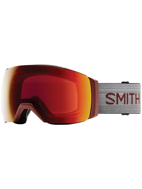 Smith IO Mag XL Oxide (+ Bonuslens) punainen