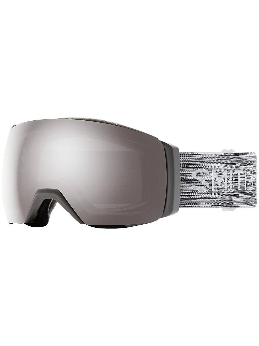 Smith IO Mag XL Cloudgrey (+ Bonuslens) harmaa