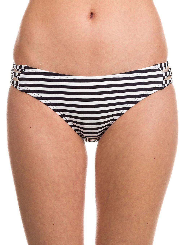 Fox Jail Break Lace Up Bikini Bottom musta  - black/white
