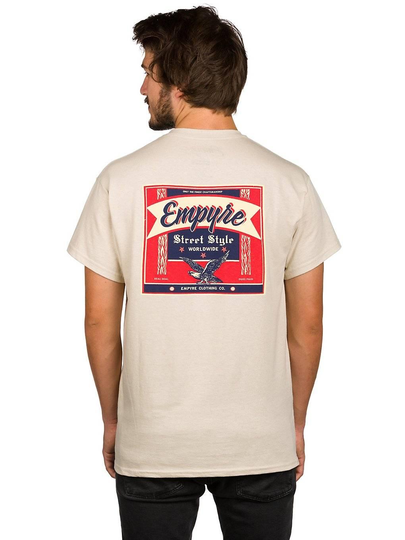 Empyre Street Style T-Shirt ruskea  - sand