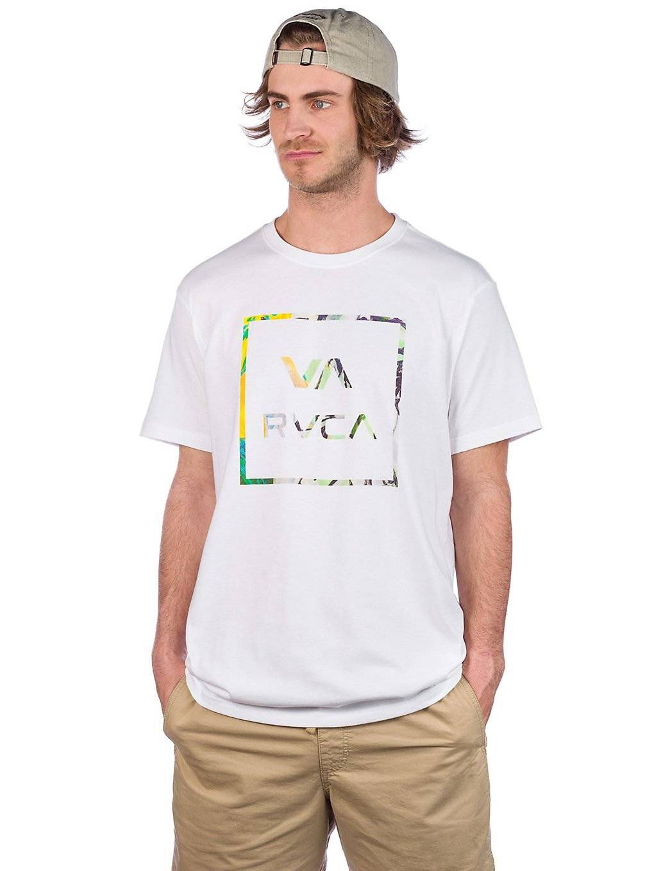 RVCA Fill All The Way T-Shirt valkoinen
