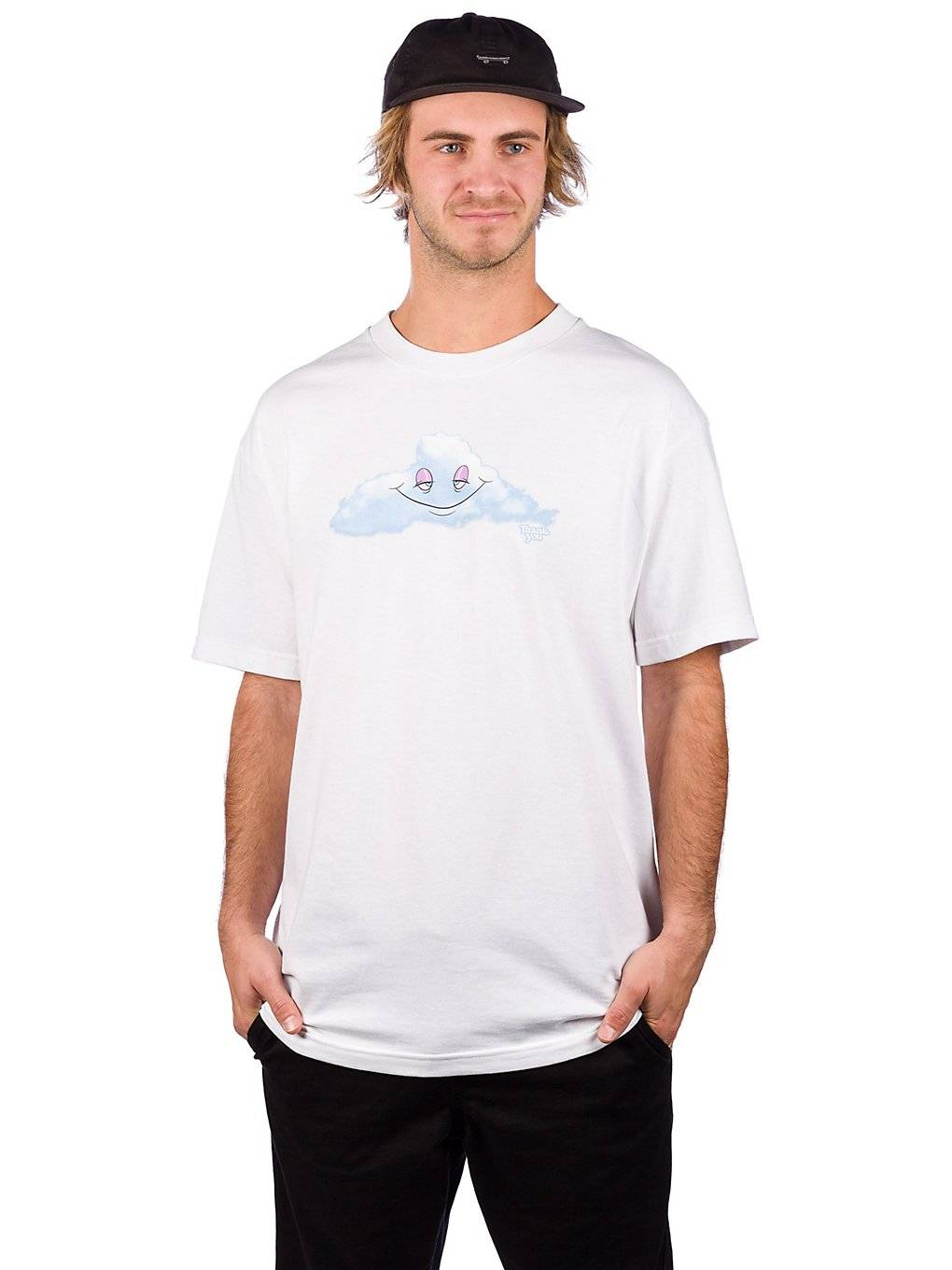 Thank You Head In The Clouds T-Shirt valkoinen  - white