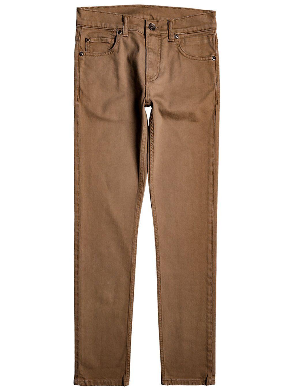 Quiksilver Voodoo Surf Jeans ruskea  - caribou