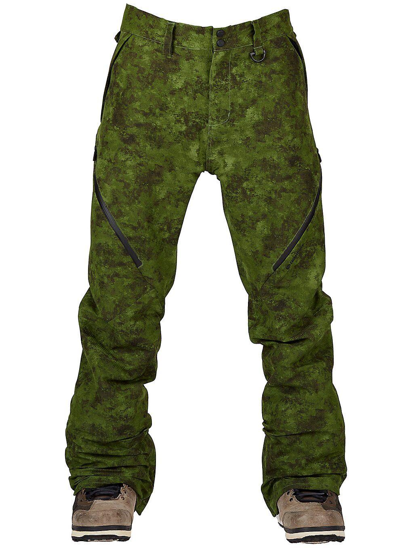 Bonfire Zone 2L Stretch Pants vihreä