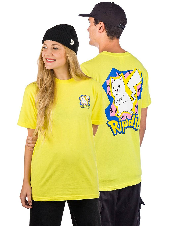 Rip N Dip Catch em All T-Shirt keltainen