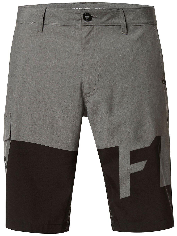 Fox Essex Tech Print Shorts harmaa  - heather graphite