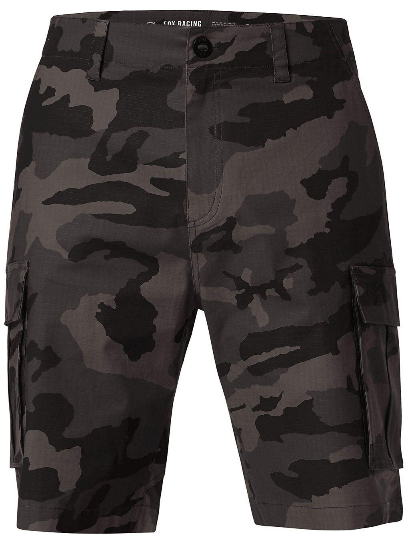 Fox Slambozo Camo 2.0 Shorts musta  - black camo