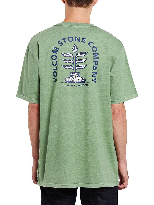Volcom Culturevate T-Shirt vihreä  - cactus green