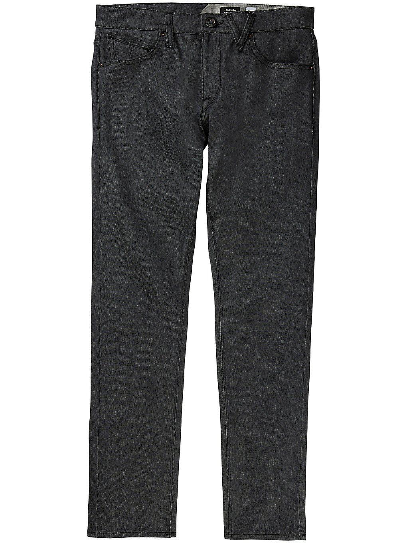 Volcom Vorta Tapered Jeans harmaa  - asphalt raw selvage