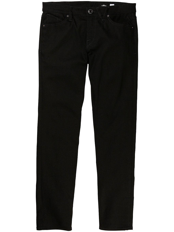 Volcom 2X4 Tapered Jeans sininen  - vmi/vintage marboled ind