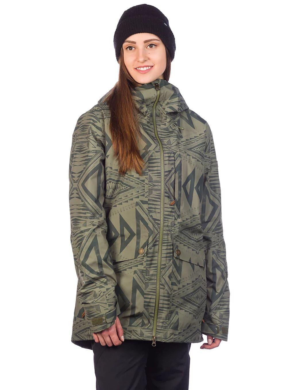 Roxy Glade Printed Gore-Tex 2L Jacket vihreä