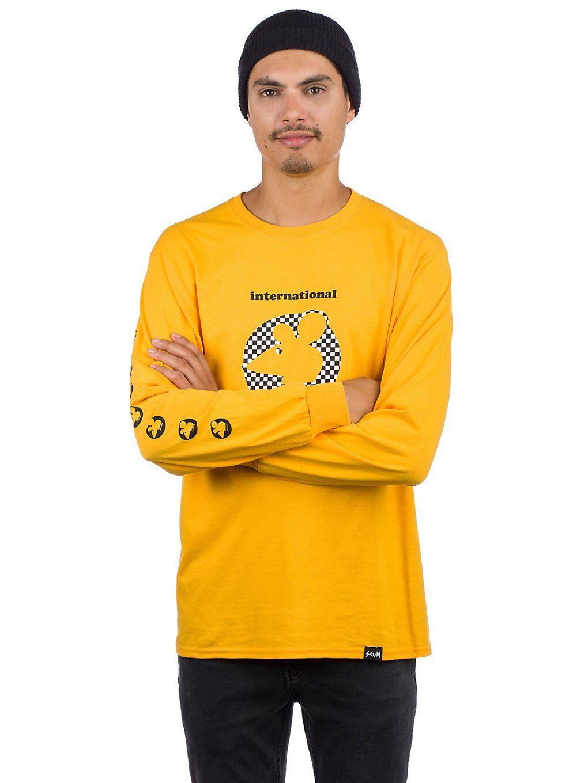 Scum Checker Ratboy Long Sleeve T-Shirt keltainen