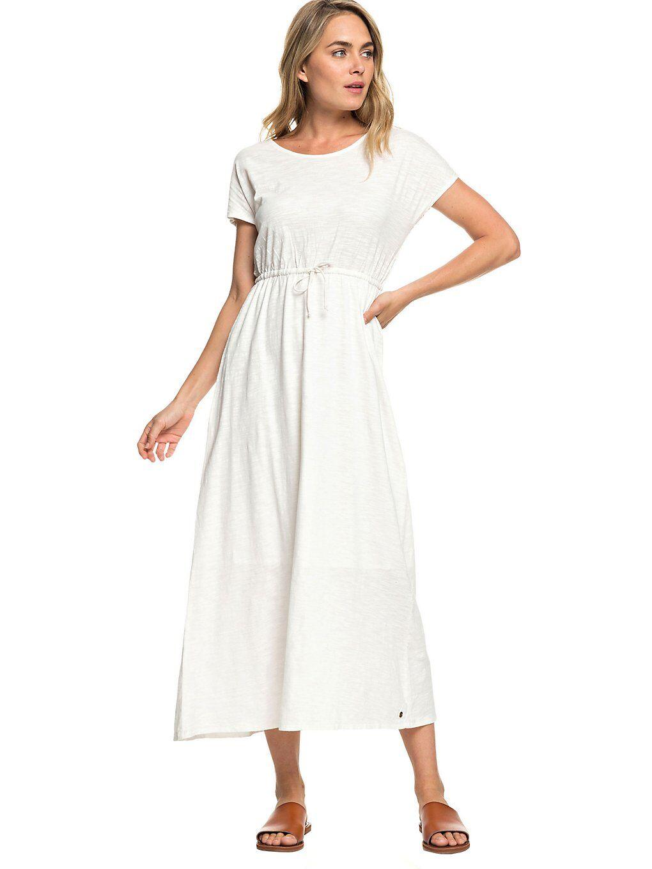 Image of Roxy Wavelines Dress valkoinen