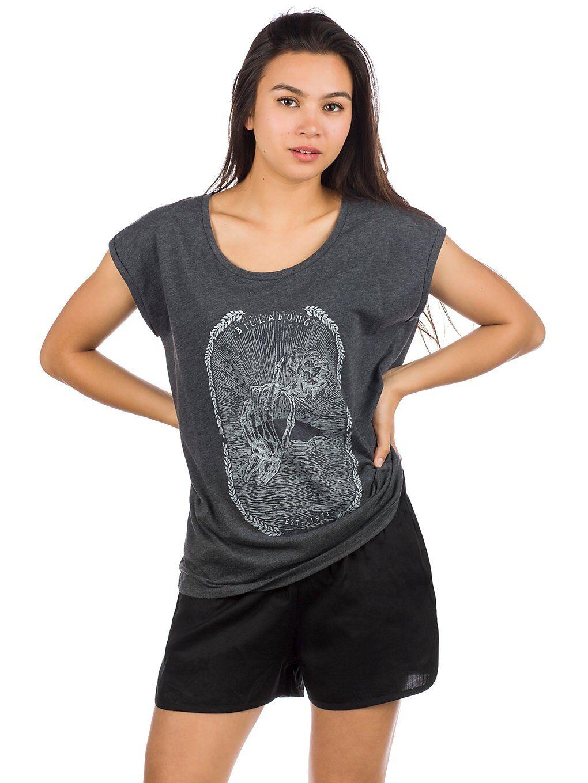 Billabong All Night T-Shirt harmaa