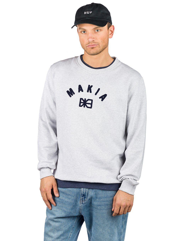 Makia Brand Sweater harmaa  - light grey