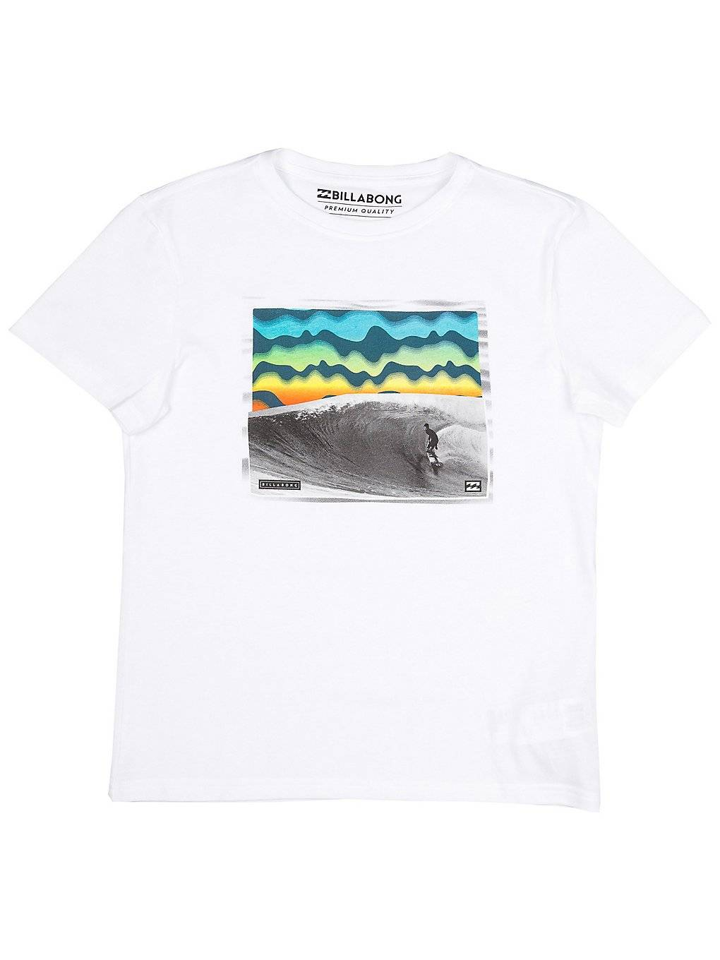 Image of Billabong High Line T-Shirt valkoinen
