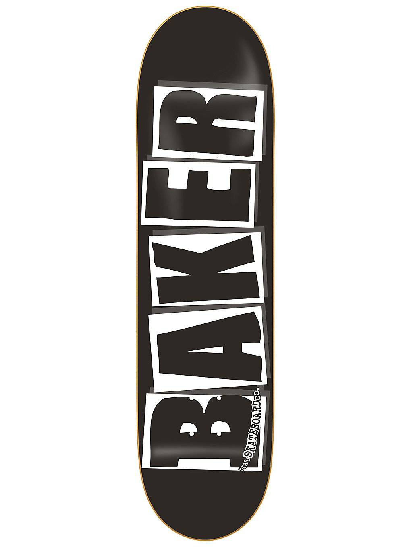 "Baker Brand Logo Black White 8.0"" Skate Deck kuviotu  - uni"