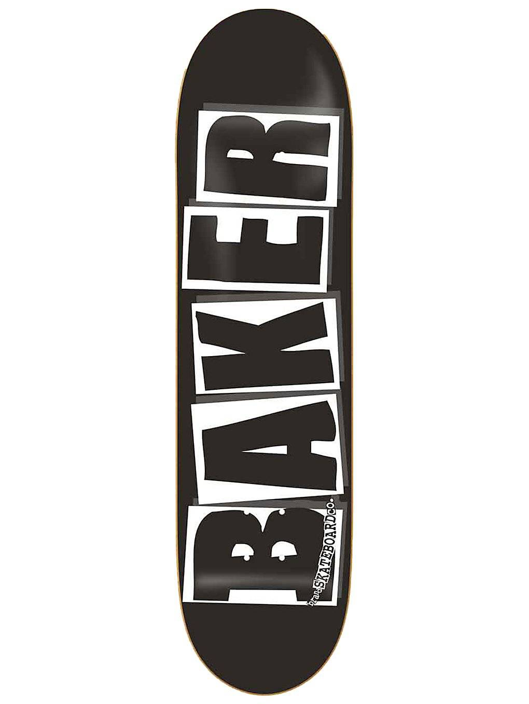 "Baker Brand Logo Black White 8.25"" Skate Deck kuviotu  - uni"