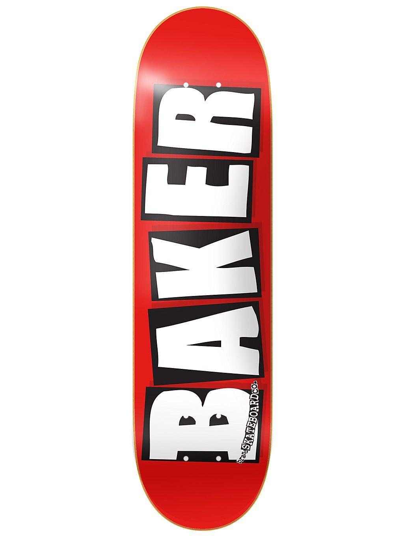 """Baker Brand Logo White 8.125"""" Skate Deck kuviotu"""