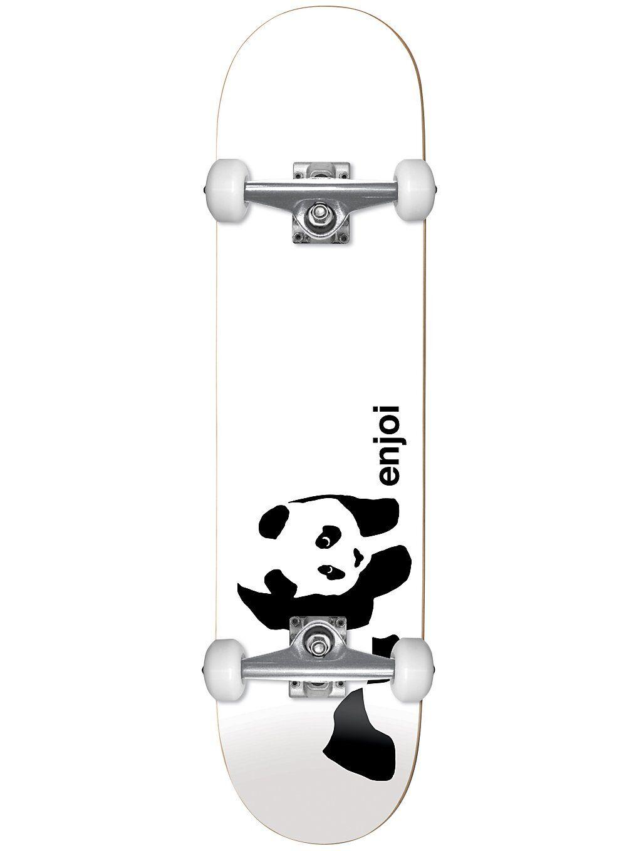 "Enjoi Whitey Panda 7.75"" Complete valkoinen"