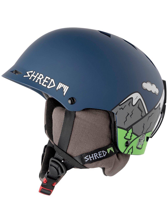 Shred Half Brain D-Lux Helmet sininen  - needmoresnow