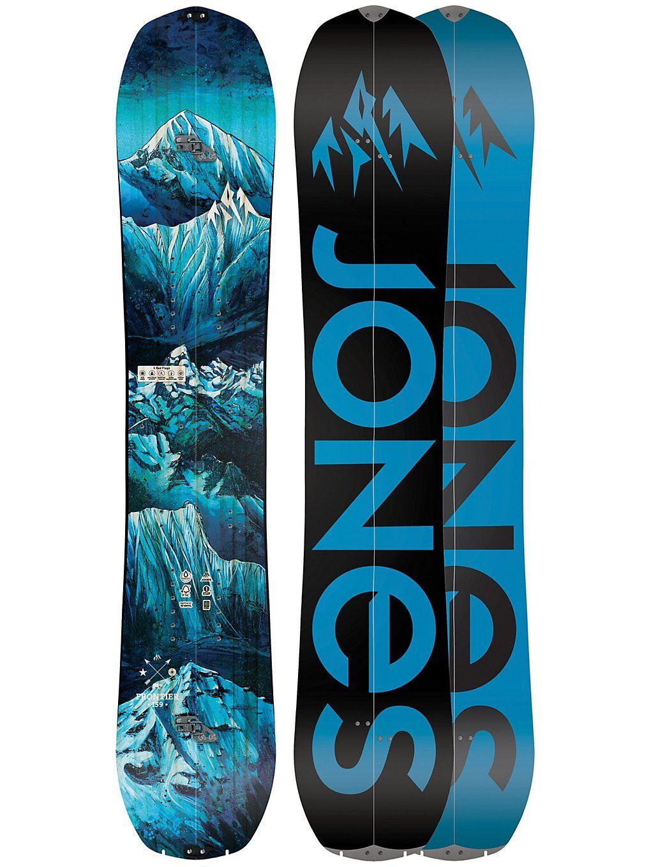 Jones Snowboards Frontier 159 Splitboard 2020 kuviotu