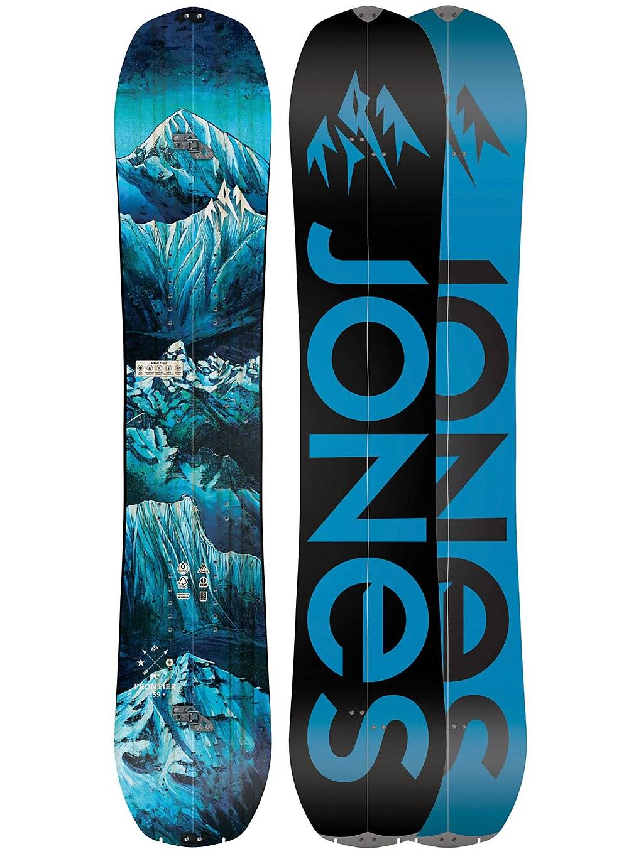 Jones Snowboards Frontier 162 Splitboard 2020 kuviotu