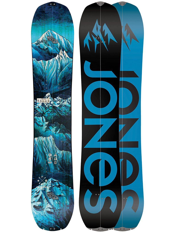 Jones Snowboards Frontier 164W Splitboard 2020 kuviotu