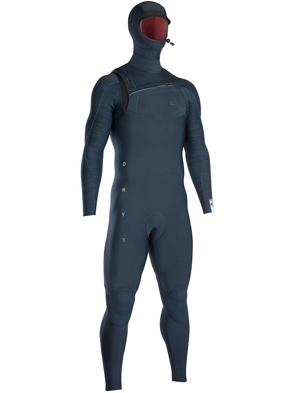 Ion Onyx Amp Semidry Hood 6/5 BS Frontzip Dl sininen  - dark blue melange