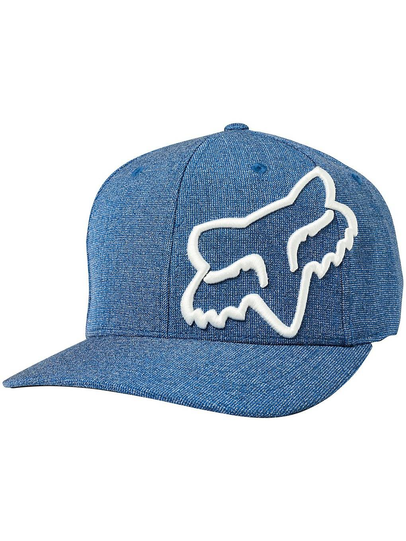 Fox Clouded Flexfit Cap sininen  - royal blue