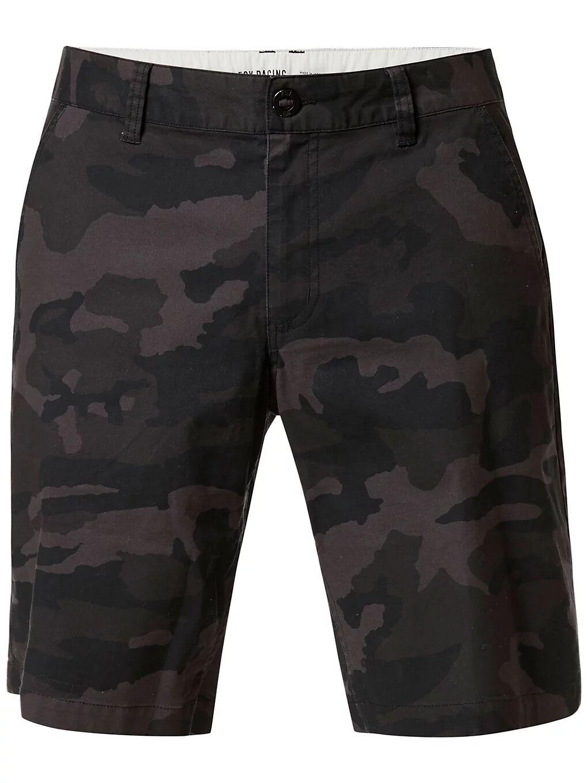 Fox Essex Camo 2.0 Shorts musta  - black camo